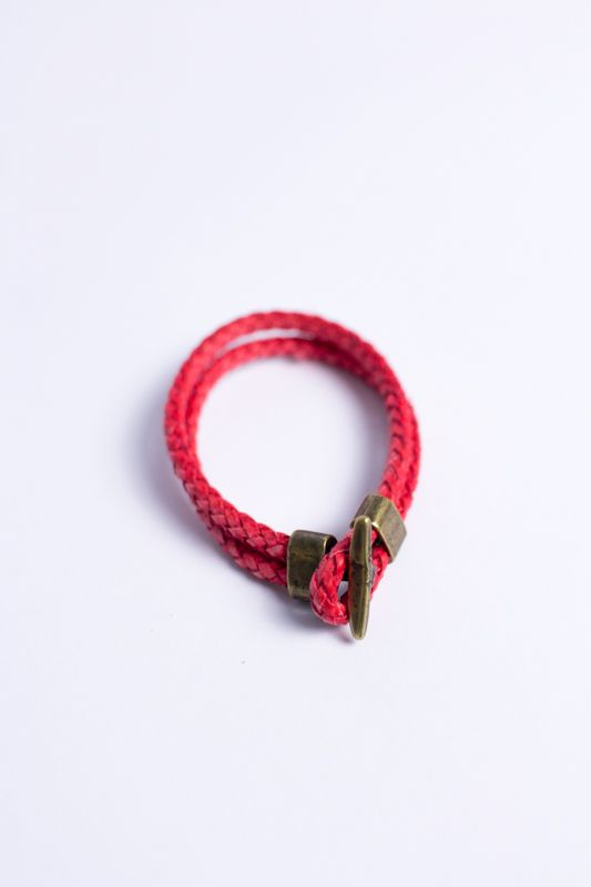 "PULSEIRA CARDIN DESIGN ""LEATHER RED"""