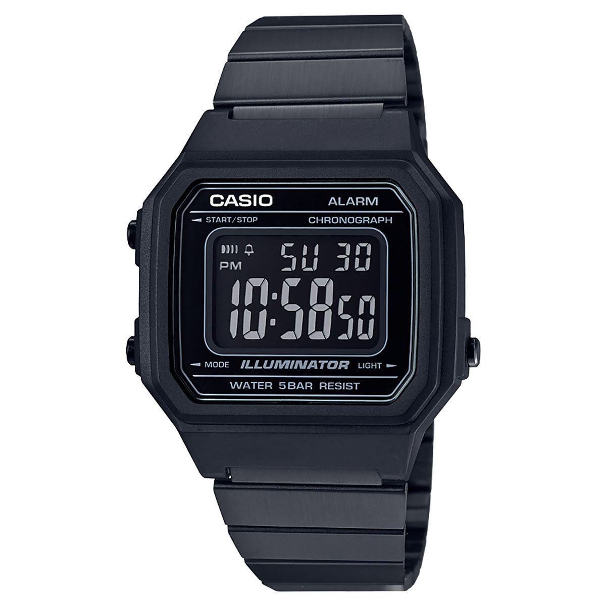 Relógio Casio B650WB-1B Black