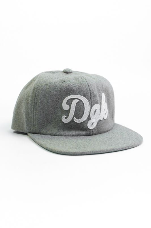 "STRAPBACK DGK ""PAST TIME 6 PANEL"" CINZA"