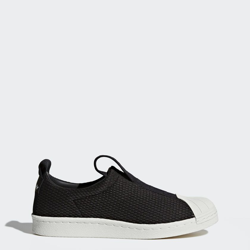 aad990c2d ... shop tÊnis adidas superstar slip on preto overcome clothing fa50d 41dbb