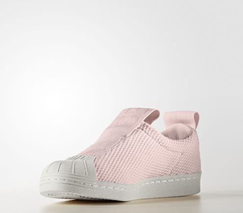 TÊNIS ADIDAS SUPERSTAR SLIP-ON ROSA