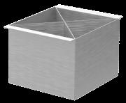 Porta Talheres inox - Design Steel