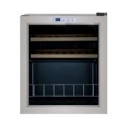 Adega Porta Inox 15 Garrafas Controle Eletrônico Compressor - Elettromec
