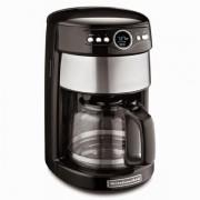80835b832 Cafeteira Elétrica Kitchenaid Glass Carafe Coffee Maker para 14 Xícaras -  Preta