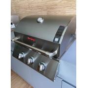 Churrasqueira a Gás 55 cm Built-in Pro 3 - Bonezze Grill