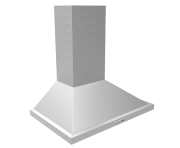 Coifa Parede inox modelo piramidal 60cm - Design Steel