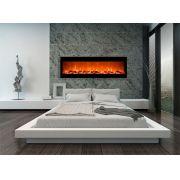 Lareira Elétrica Ecológica Design Steel ECO 180 - 180x55cm - 220v