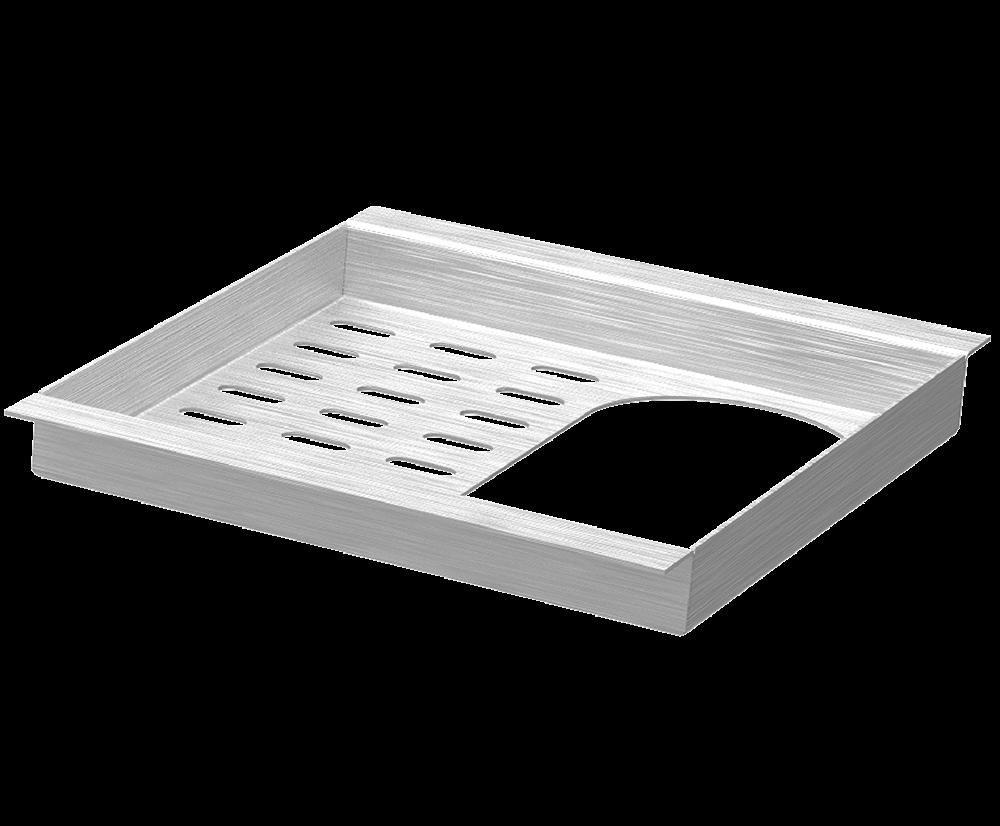 Acessório Porta Esponja e Detergente - Design Steel