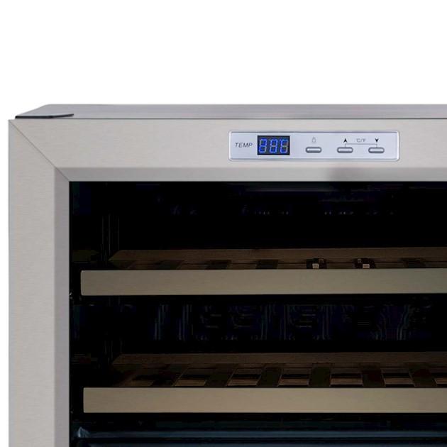 Adega Climatizada Elettromec Porta Inox 15 Garrafas Controle Eletrônico Compressor