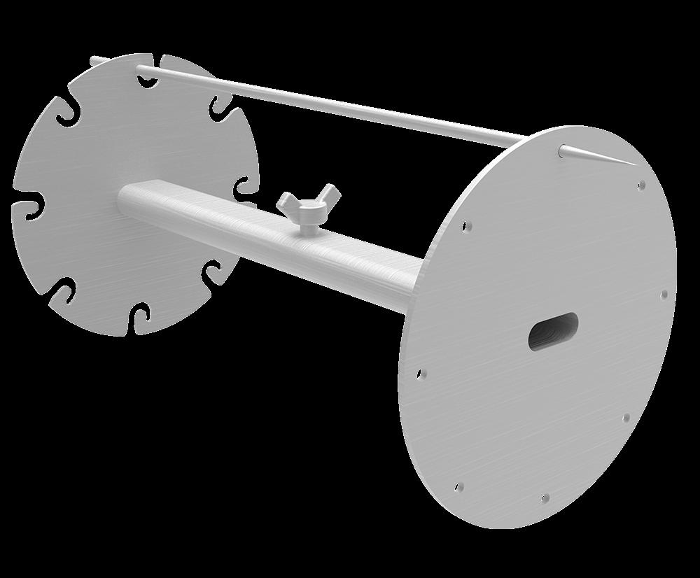 Assador espetinhos compatível com qualquer espeto - Design Churrasqueira