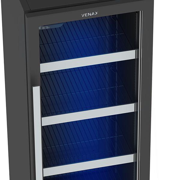 Cervejeira Blue Light Digital 209 Litros Refrigerada por Compressor - Venax