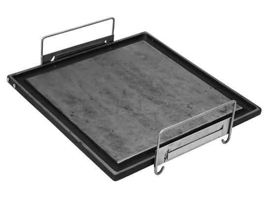 Chapa bistequeira ferro Gusa 30cm para cooktop - Felesa