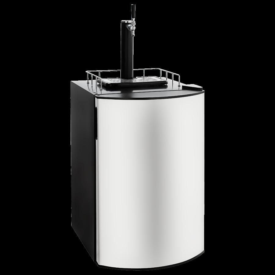Chopeira e Frigobar porta Inox para barril até 50 litros - Draftbeer