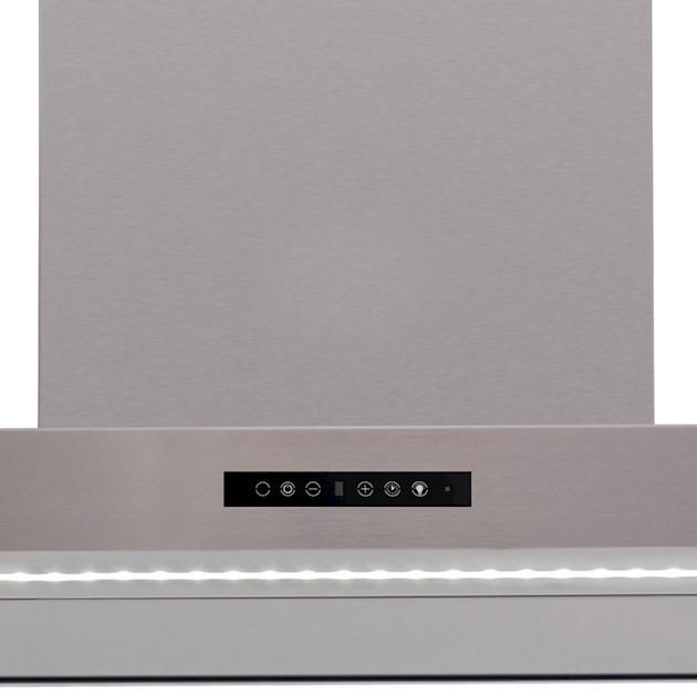 Coifa Parede  Adria Inox 90cm - 220v  - Elettromec