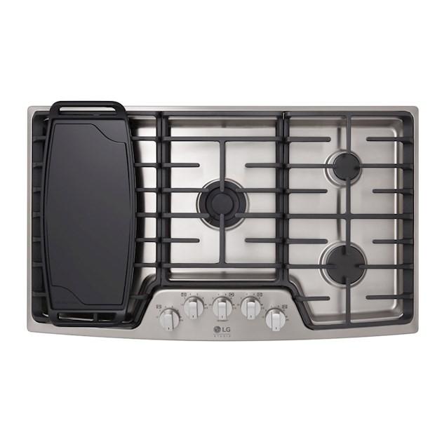 Cooktop a Gás LG Studio 5 Queimadores Inox 92cm - 110V