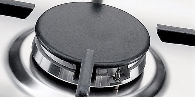 CookTop Bertazzoni La Germania  Linha FUTURA LATERALE 5 Queimadores á Gás 72cm - 220V