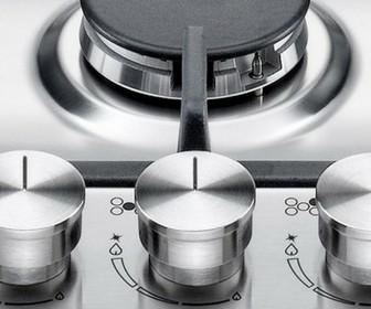 CookTop La Germania  Linha futura lateral 5 Queimadores á Gás 91cm - Bertazzoni