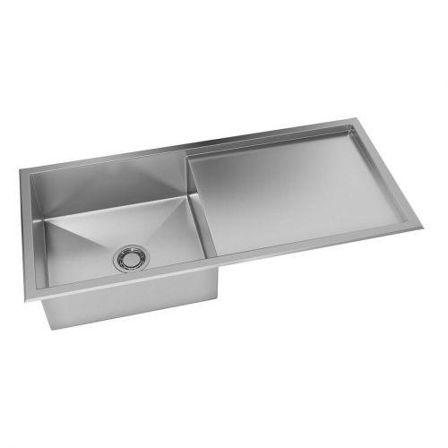 Cuba para Cozinha Quadratino Reversível Inox 100x45 - DeBacco