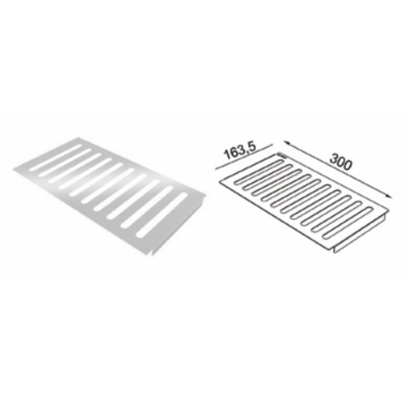 Escorredor de pratos Inox para Calha Úmida 300 mm - De Bacco