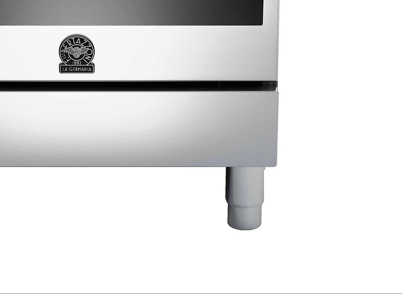 Fogão de Piso BERTAZZONI LA GERMANIA Série Futura 4  Queimadores Forno Elétrico Multifunções 60cm