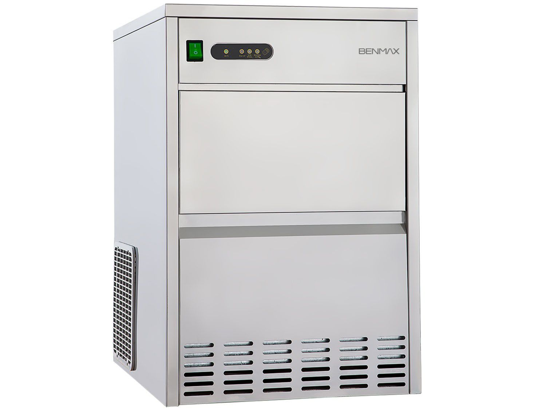 Máquina de Gelo Super Ice Produção até 50kg - Armazenamento até 07kg Inox -Benmax