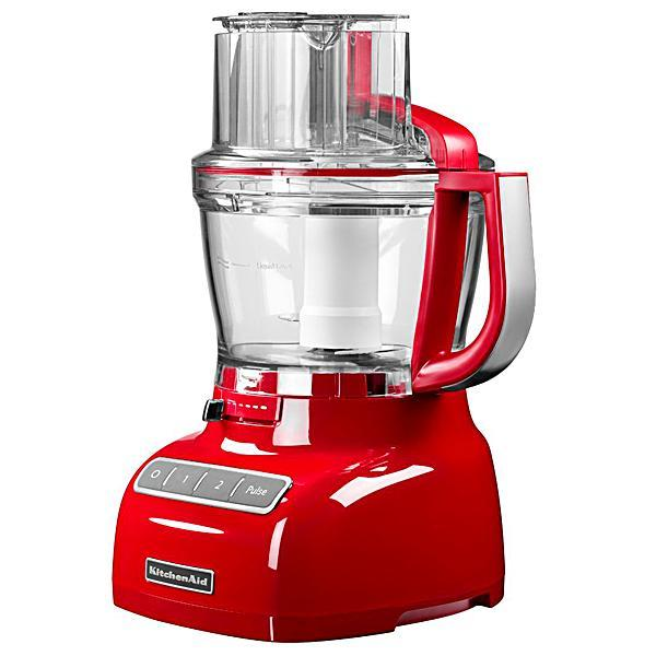 Processador de Alimentos KitchenAid 300W para 3.1 Litros - Vermelho