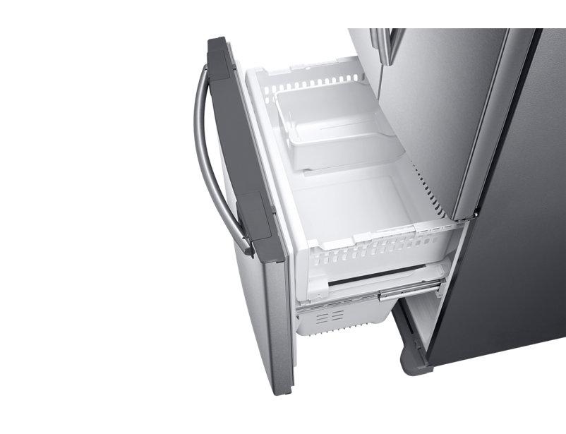 Refrigerador Inox SAMSUNG French Door  Compact, 441L - 220v