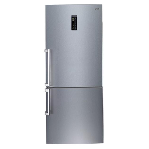 Refrigerador LG Bottom Freezer 445 Litros Inox