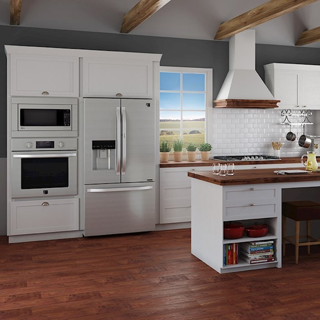 Refrigerador LG Studio French Door Inox 552 Litros - 110V