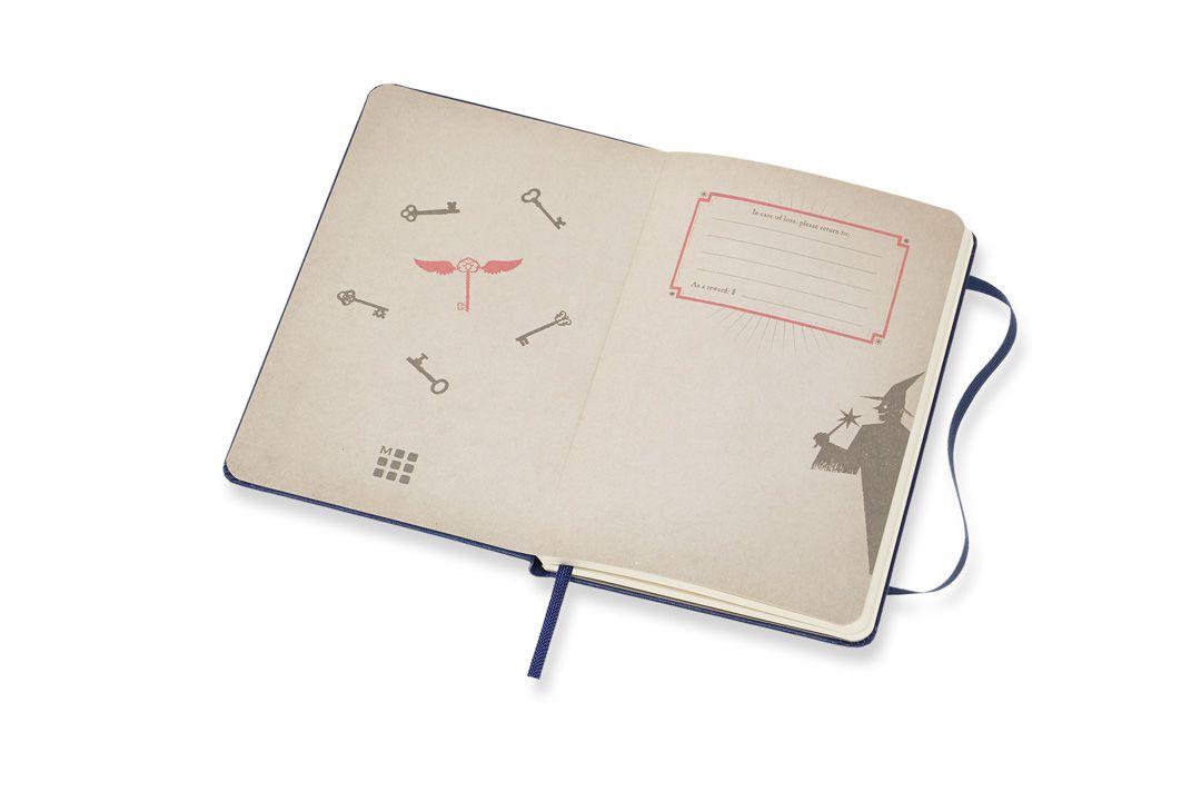 Agenda Moleskine 2019, Edição Limitada Harry Potter, Lumos, Semanal, 12 meses, Tamanho Bolso (9 cm x 14 cm), Azul, Capa Dura