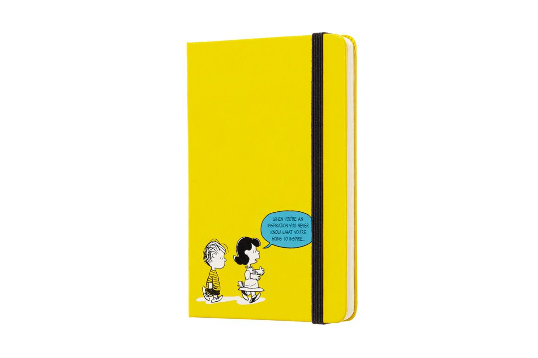 Agenda Moleskine 2019, Edição Limitada Snoopy e Seus Amigos, Semanal, 12 Meses, Tamanho Bolso (9 cm x 14 cm), Amarelo, Capa Dura