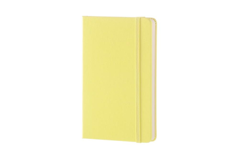 Caderno Moleskine Clássico, Amarelo, Capa Dura