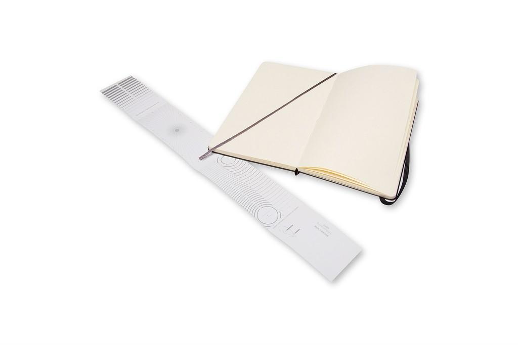 Caderno de Esboços Moleskine Clássico, Preto, Capa Dura, Sem Pauta, Grande