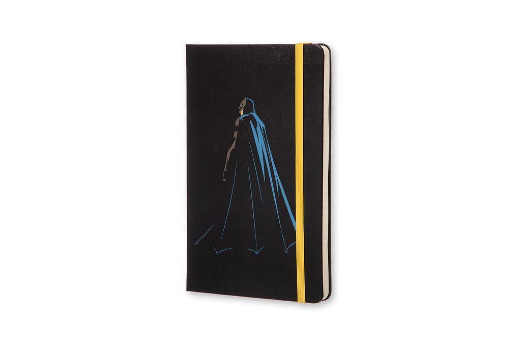 Caderno Moleskine Edição Limitada, Batman Vs Superman , Versão Batman, Capa Dura, Pautado, Grande