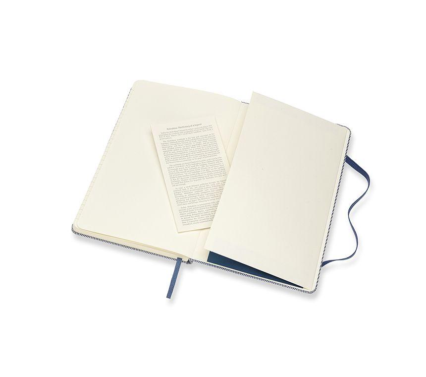 Caderno Moleskine Edição Limitada, Blend , Azul, Capa Dura, Pautado, Grande