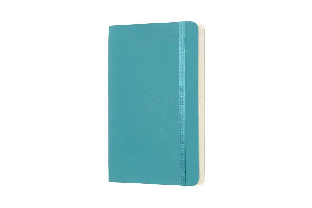 Caderno Moleskine Clássico, Azul Recife, Capa Flexível