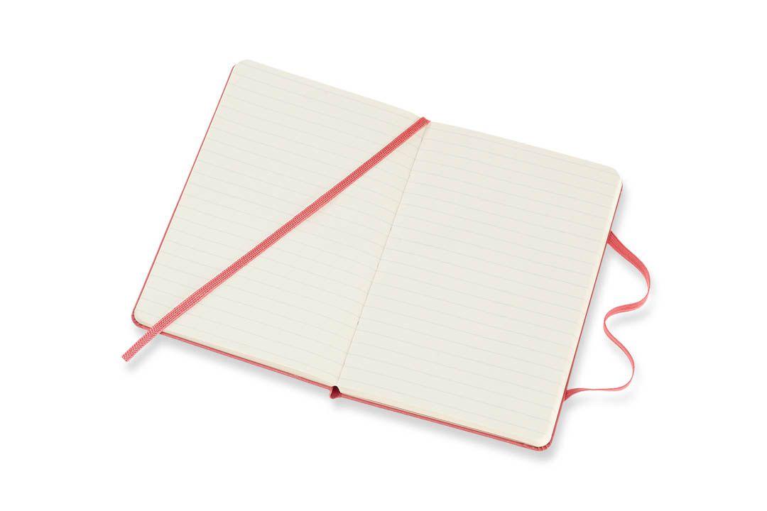 Caderno Moleskine Clássico, Rosa Margarida, Capa Dura