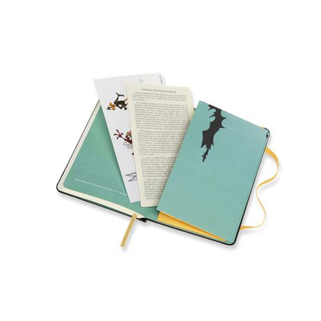 Caderno Moleskine, Edição Limitada Looney Tunes, Patolino, Pautado, Tamanho Bolso (9 x 14 cm)