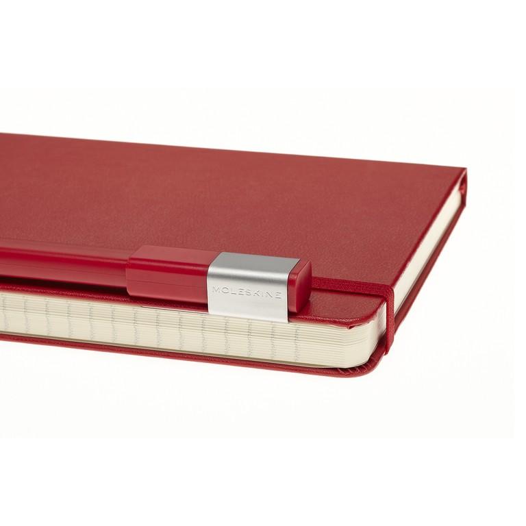 Conjunto Caderno Moleskine e Caneta Moleskine, Vermelho Escarlate