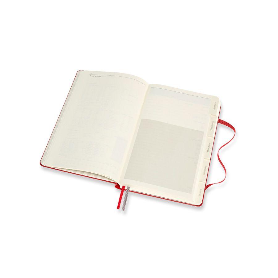 Diário de Paixões Moleskine, Receitas, Grande (13 x 21 cm)