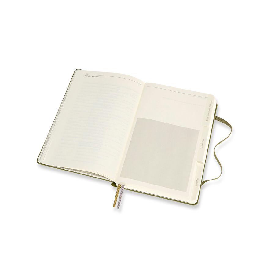 Diário de Paixões Moleskine, Viagens, Grande (13 x 21 cm)