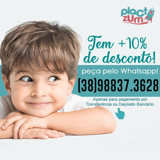 Almofada Brinquedos  - PLACT ZUM