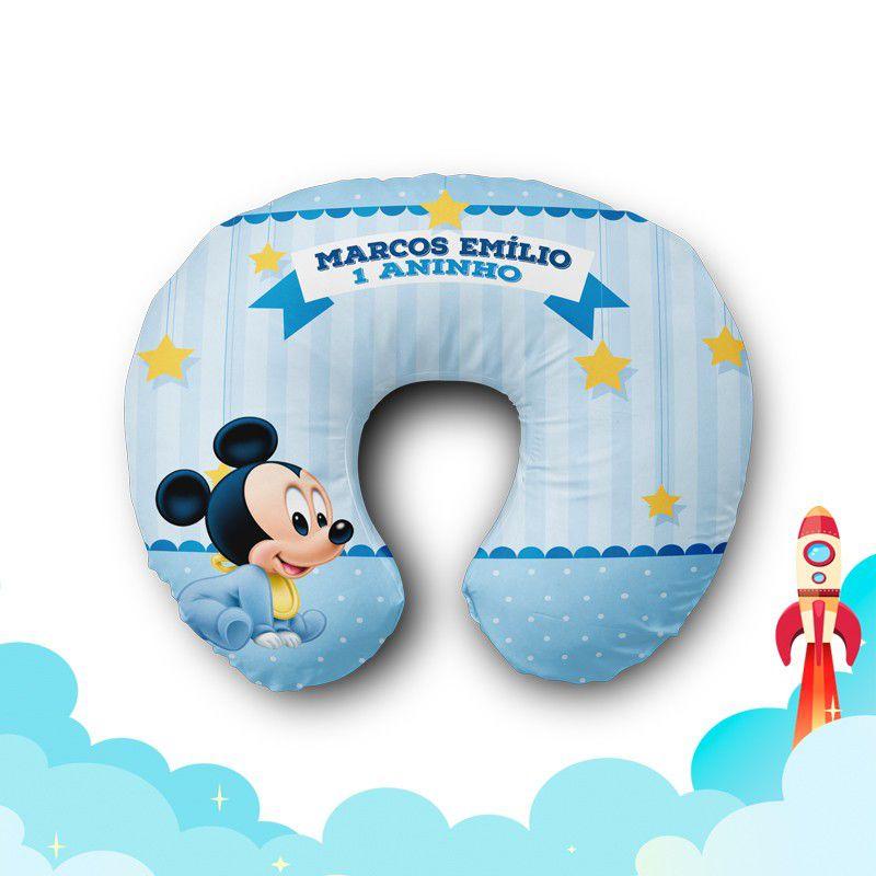 Almofada de Pescoço Mickey Baby  - PLACT ZUM
