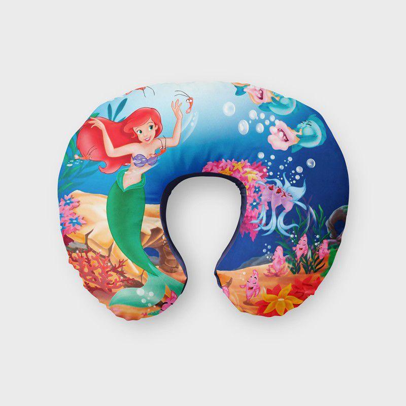 Almofada de Pescoço Pequena Sereia Ariel  - PLACT ZUM
