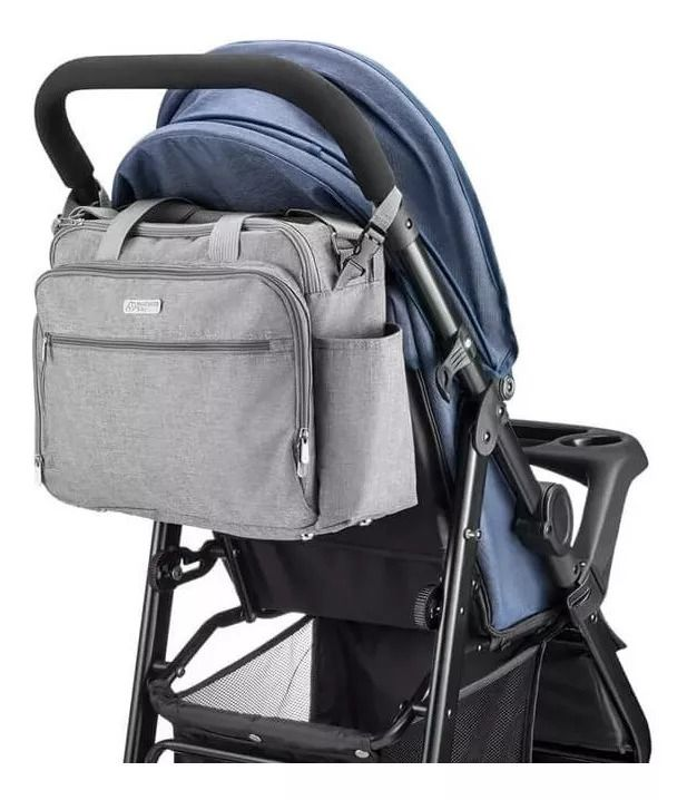Bolsa Maternidade Multikids Baby Cinza  - PLACT ZUM