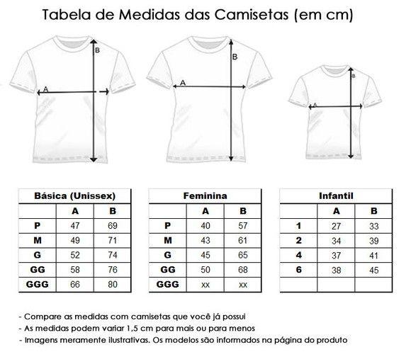 Camisetas de Algodão Personalizadas P/ Toda Família  - PLACT ZUM