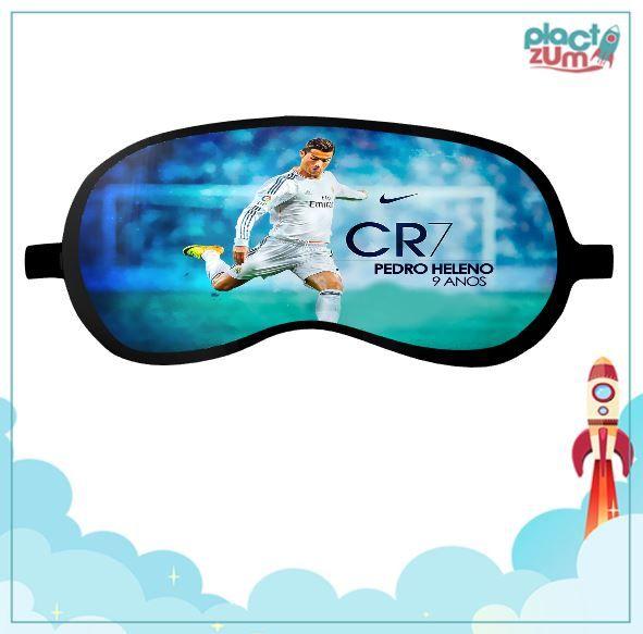 Máscara de Dormir Real Madrid - CR7 Cristiano Ronaldo  - PLACT ZUM