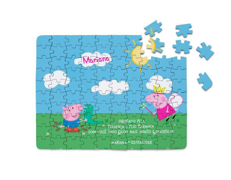 Quebra-Cabeça Peppa Pig 40 peças  - PLACT ZUM