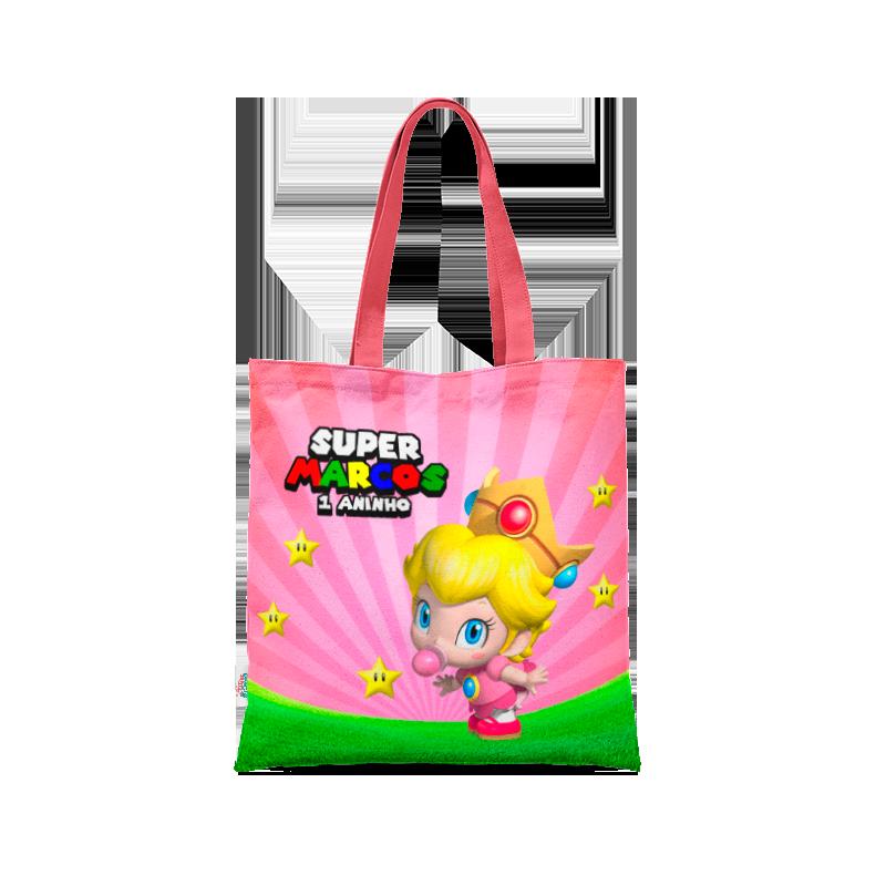 Sacola Super Mario Baby Princesa  - PLACT ZUM