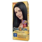 Coloração Creme Cor e Ton 1.0 Preto Azulado - Niely